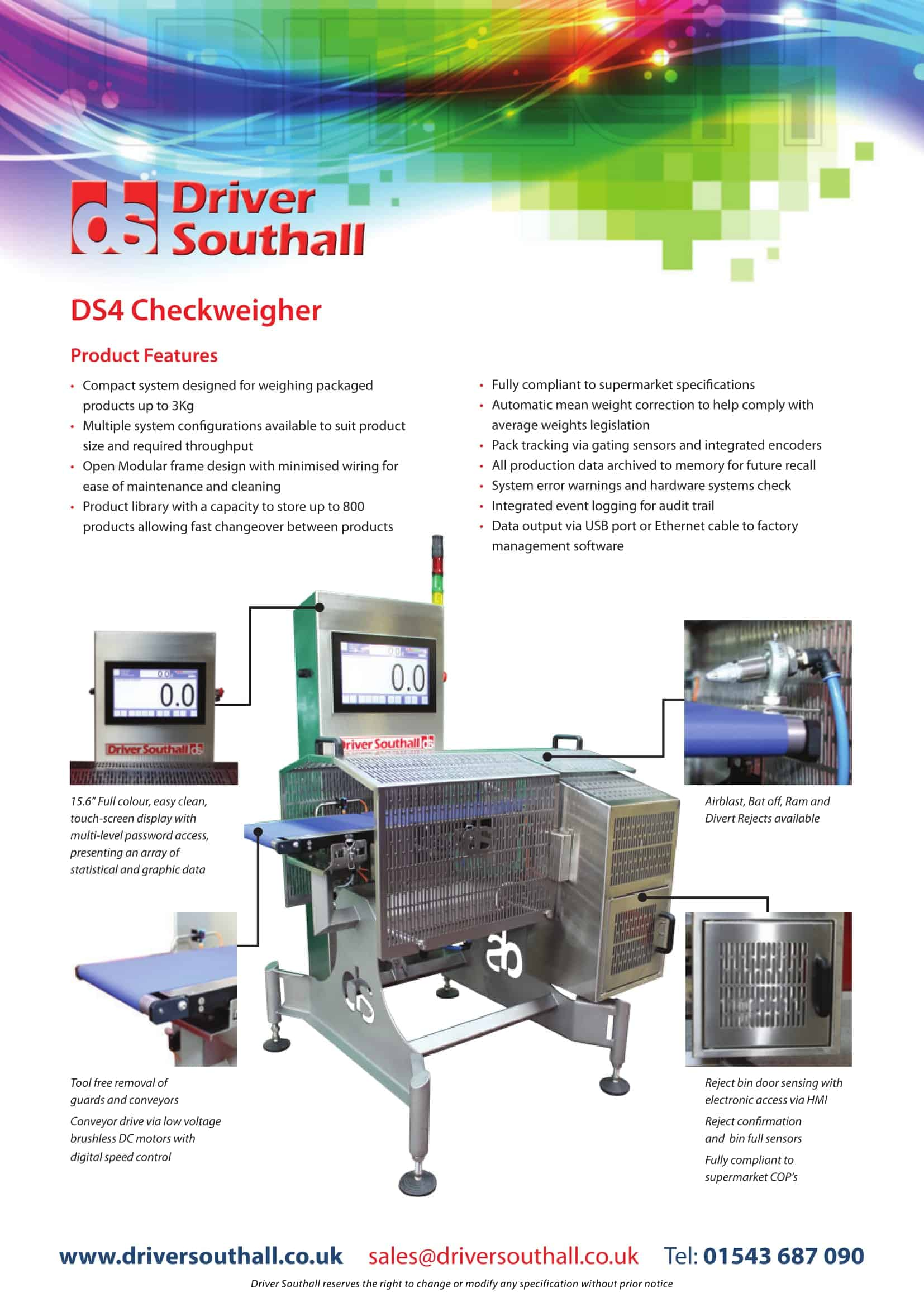 DS4 Checkweigher