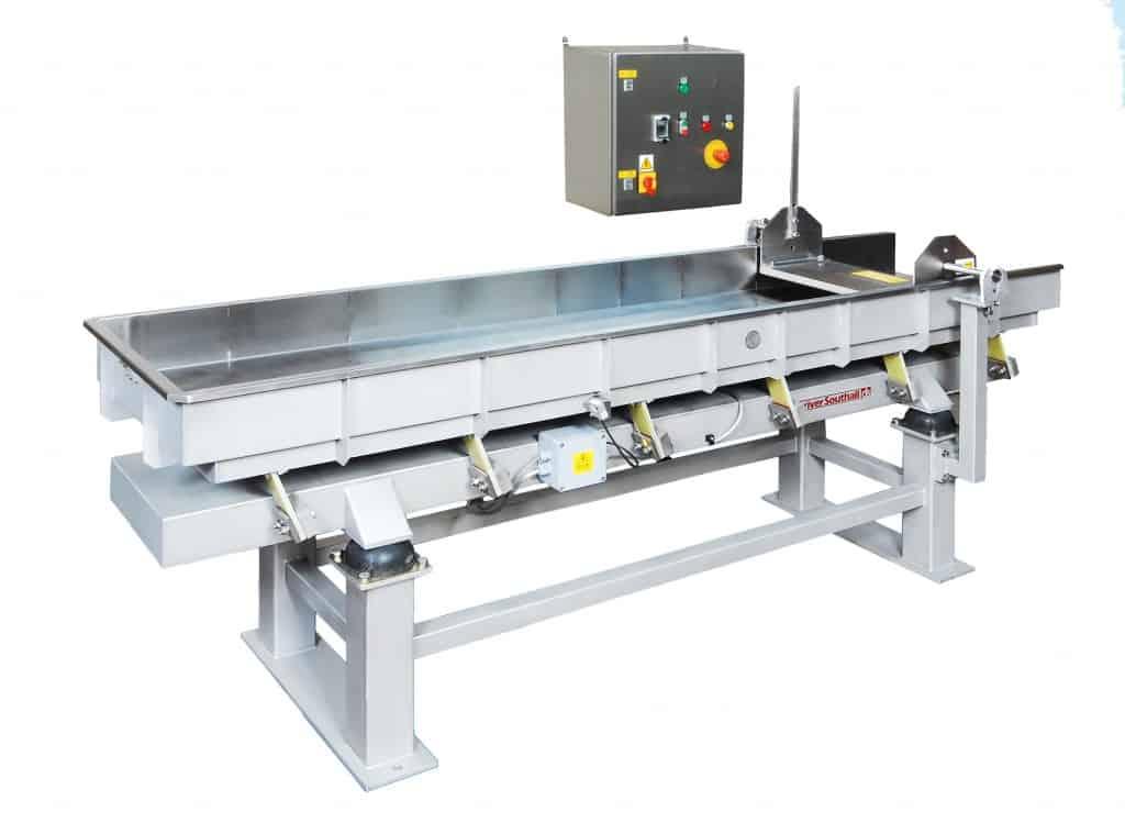 vibratory inspection conveyors