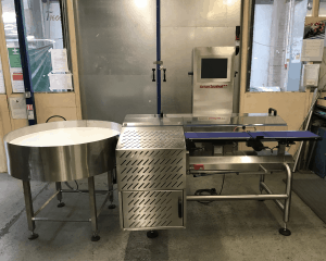 DS300S Checkweigher & Turntable