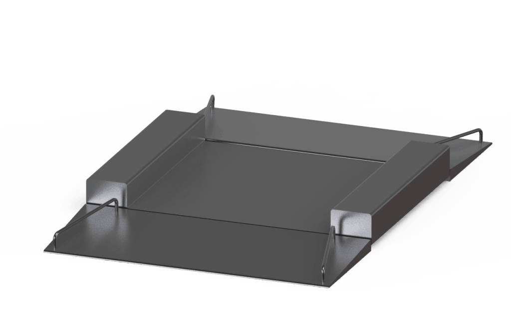 Low Profile Platform (600x600)(With Twin Ramp)