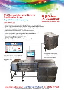 DS4 Checkweigher Metal Detector Combination System